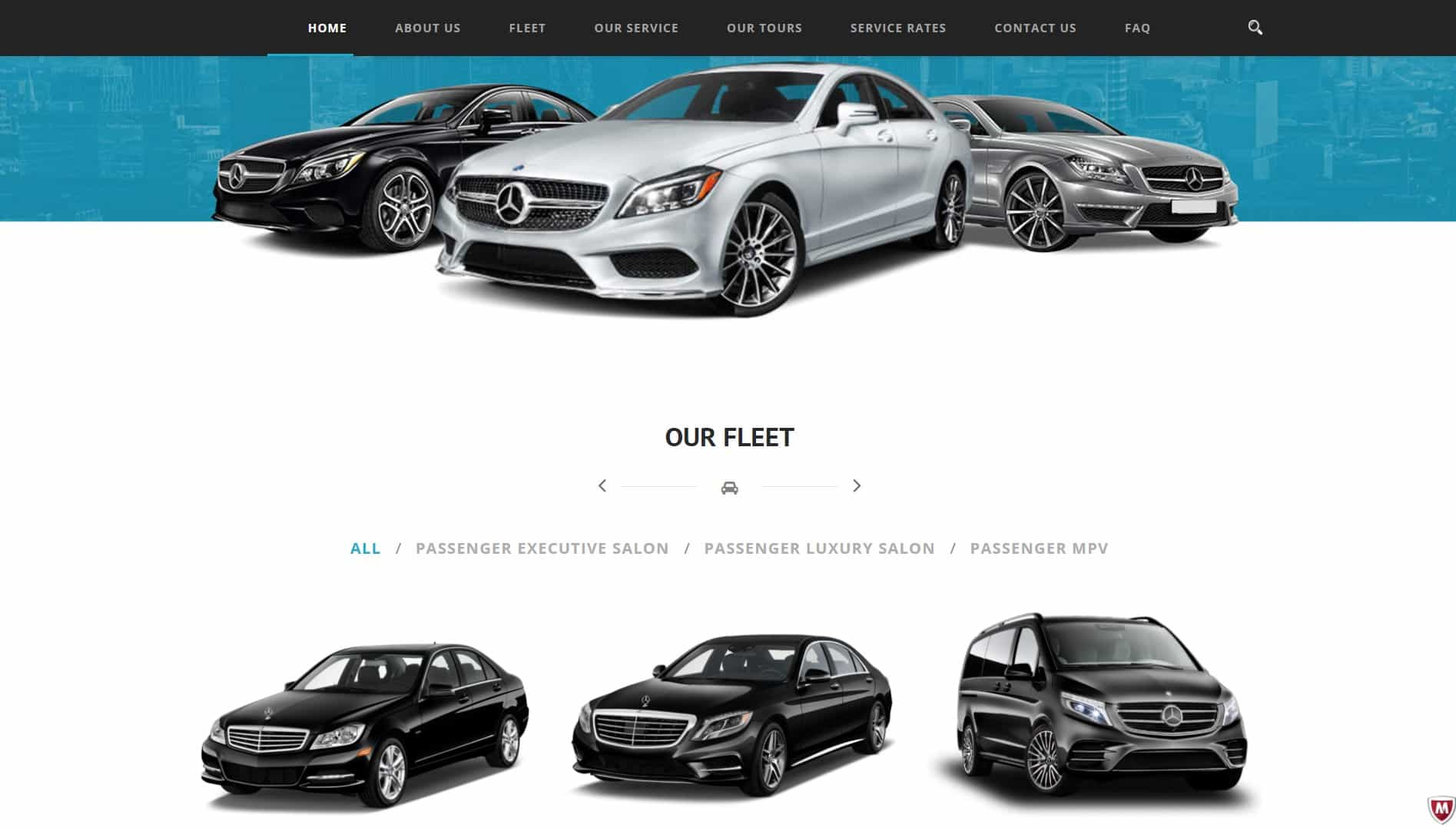 Our portfolio - My-Chauffeurs | Web Design & Development Studio London
